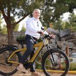 ΣΠΑΥ Υμηττός Μάδης Δήμαρχος Παιανίας ηλεκτρικό ποδήλατο
